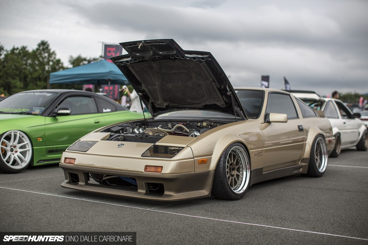 RB52DE powered, bronze on bronze, z31 from Speedhunters 2013 Stance Nation show coverage
