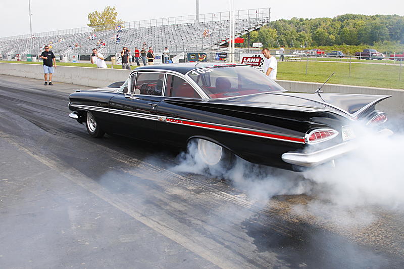 Who doesn't love a good all metal drag car?