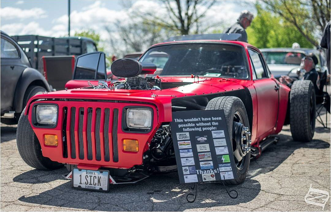 WTF Friday: Meanwhile In Iowa, A Hot Rod Porsche - Stance Is Everything
