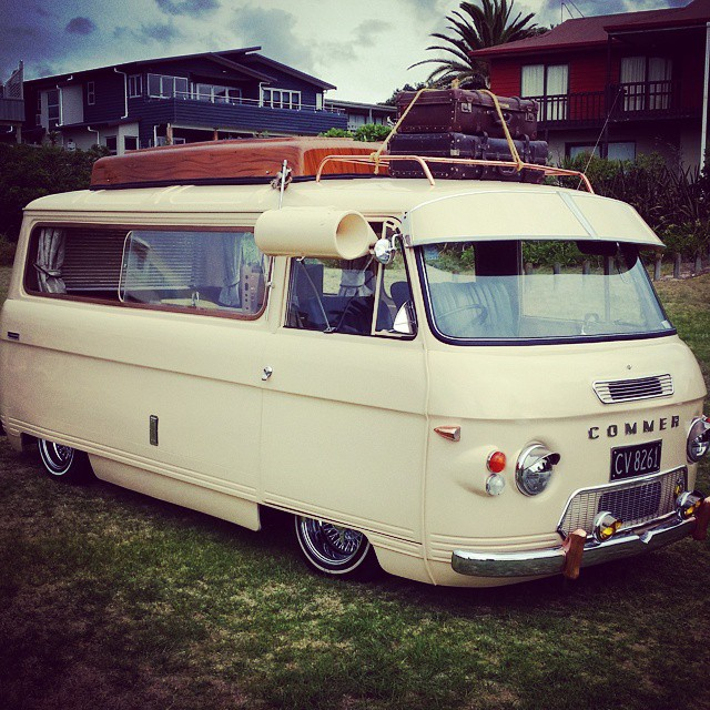 A UK Special Dodge Commer Dumped On What Look To Be Truespokes With Classic Window AC