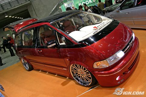 Toyotas Previa's are also  pretty popular platforms, the fact that they are mid engine rear wheel drive is also pretty interesting