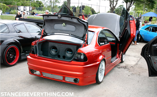 e46 with swing up doors