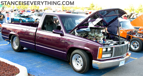 First but hopefully not the last Super Stock set up truck I see