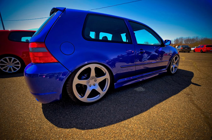 Blue seems to  be a popular color for mk4s