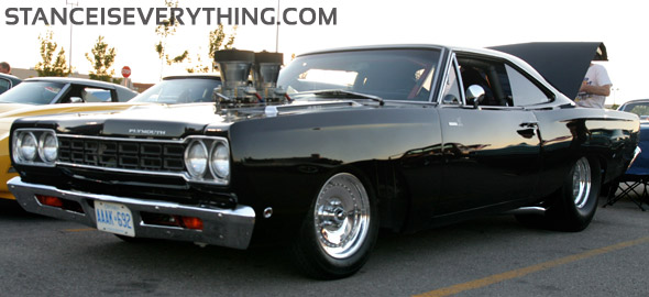 Black and chrome is timeless