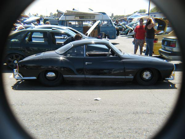 It's low black and a VW, but what model