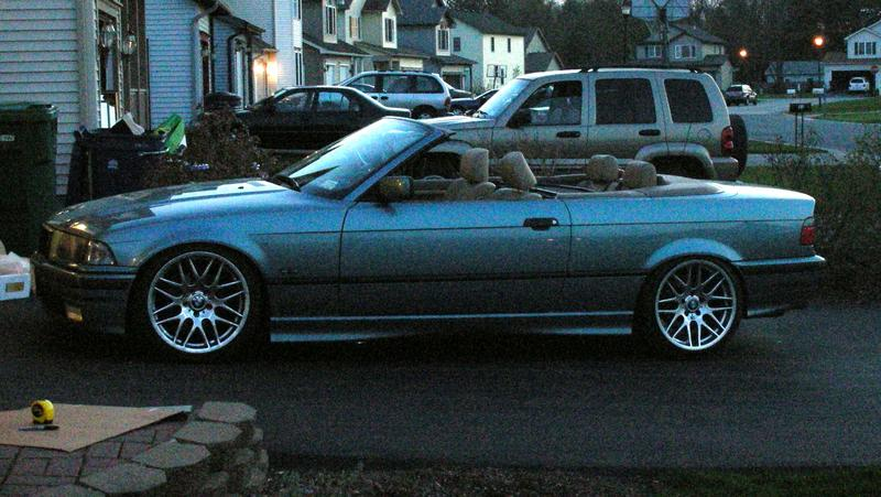 Dropped 328 convertible