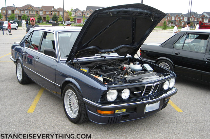 One of the nicest bmw colors ever, Arctic Blue, ya I am biased.