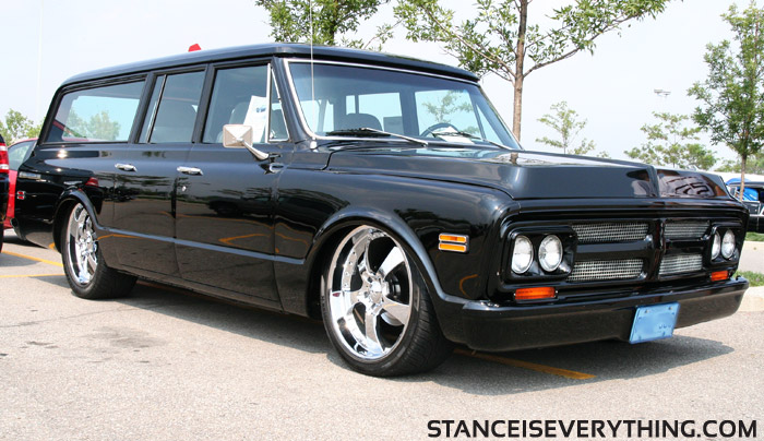 This Suburban was for sale, around 35 thousand if I recall