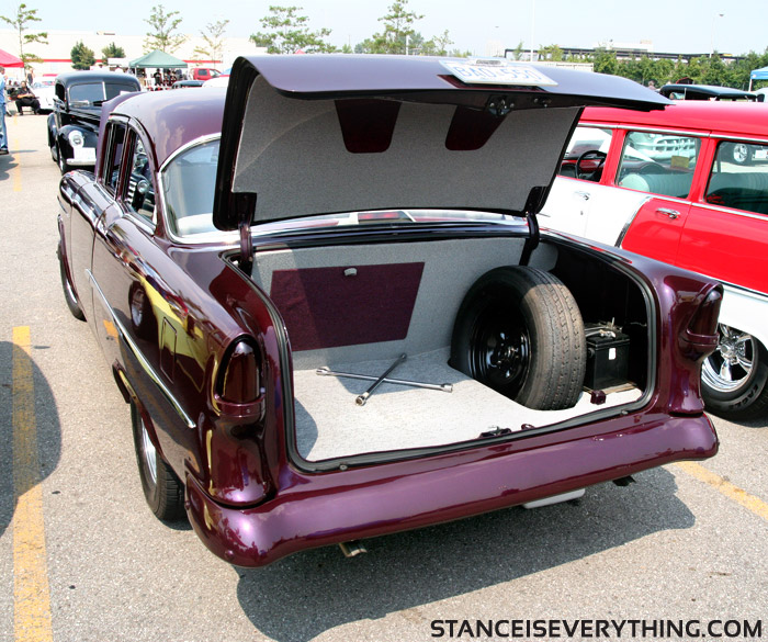 Attention to detail yields a clean trunk like this