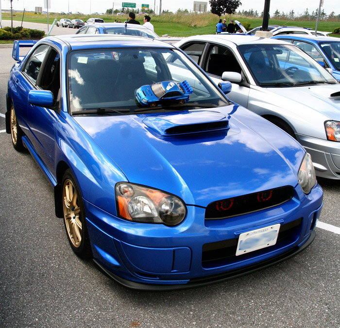 My friend Keven's GFs brothers car