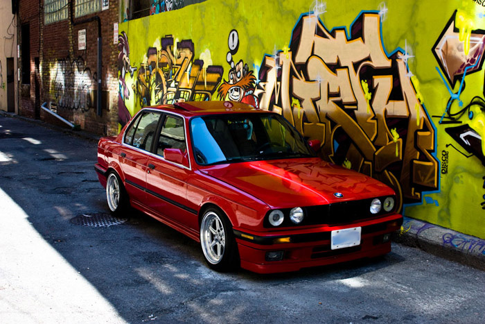 Trevors e30 has been through a few revisions over the years but always clean