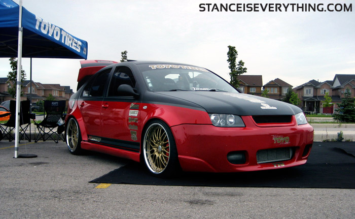 Toyo tires brought out this widebody Jetta