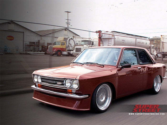 Wide body tucked  510
