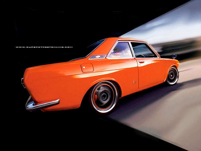 Polished lips and orange accents on the rims. I want to see these wheels stopped.