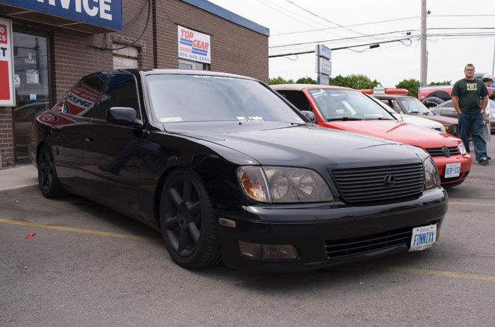 Before switching to VIP style this was one of the first blacked out cars I ever saw