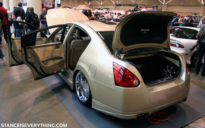 This bagged Maxima had a snake skin interior