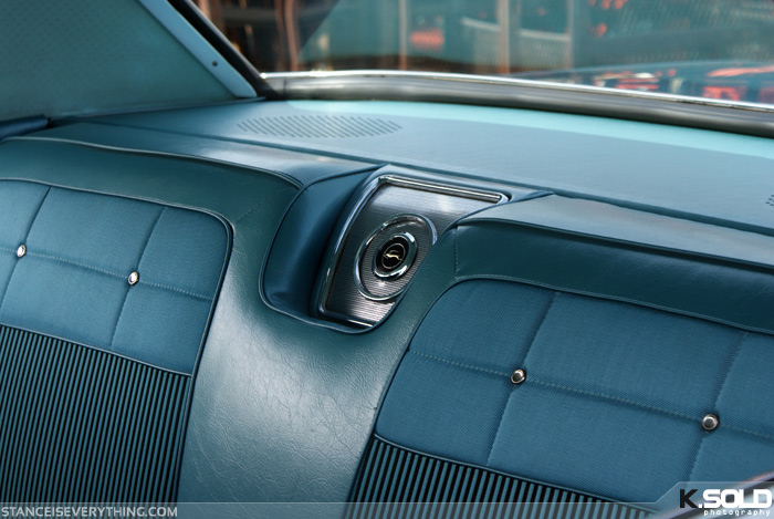 These center rear seat speakers are an iconic Impala feature