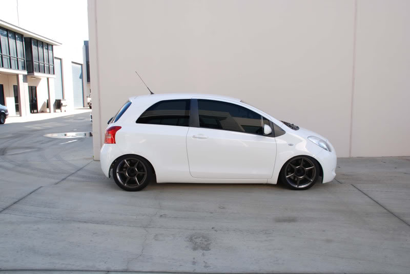 I didn't know K-1s came in Yaris fitment, probably the only Yaris I will ever post