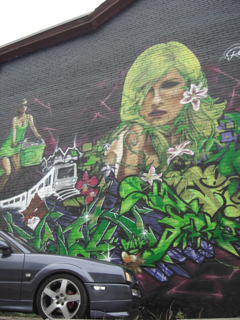 More of Toronto's great graffiti, going to have to ask Nelson where these were taken