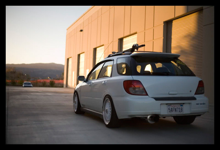 This fitment and stance is perfect, the right balance of everything