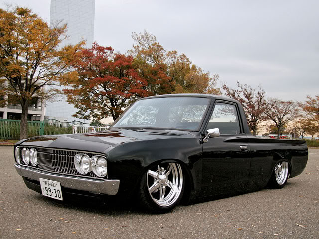 Smooth and laid out Datsun 620