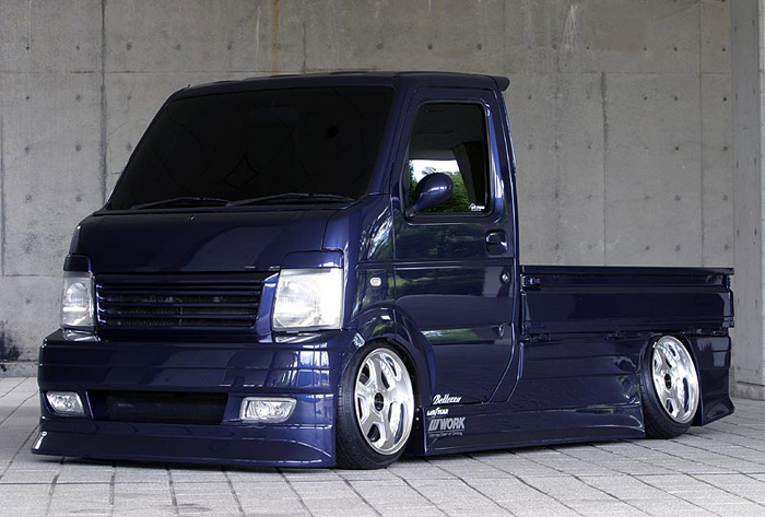 Only in Japan would a truck like this be both made and VIP'd