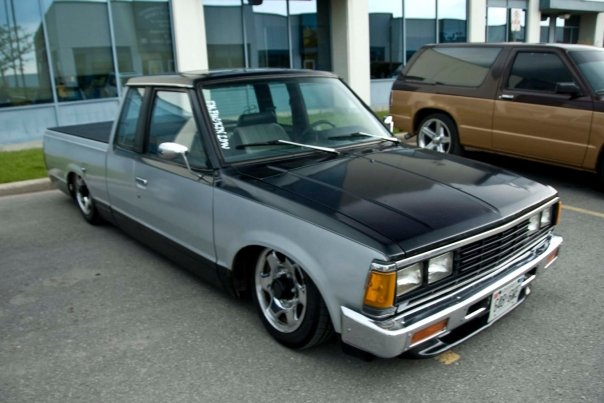 This locak Nissan 720 is a great change of pace from the rotted out B2200s around the gta