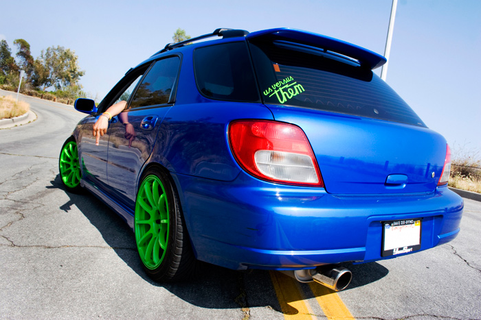 Sleepy Wagon makes another appearance on Stance Is Everything with his old green rims