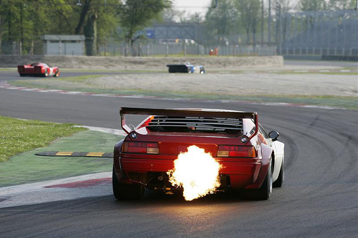 I've always liked M1s so to see a picture of one given er on the track is a treat