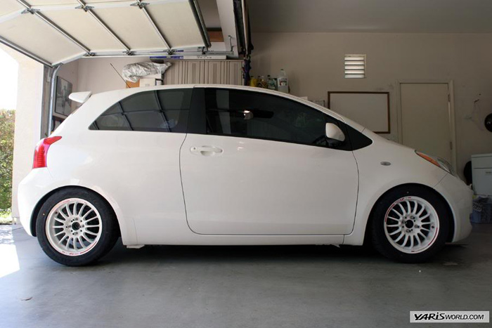 Who else but Noah could find a pic of a sick looking Yaris?