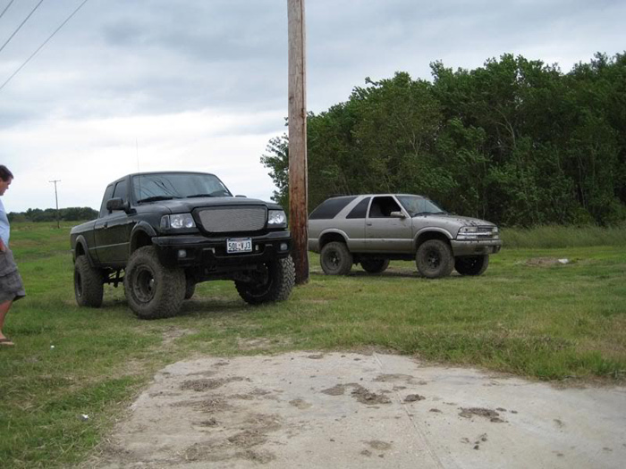 My friend likes Rangers, I like Fords, so I had to include this one