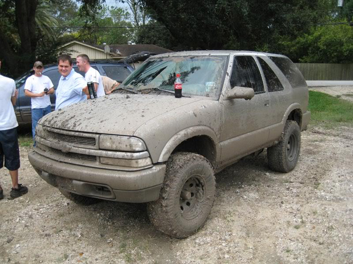 Lifted and used