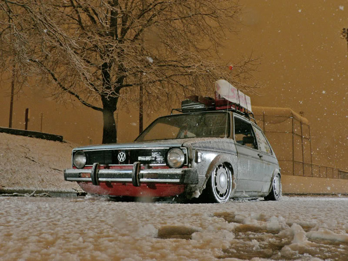 This car just ooozes style and dedication to stance