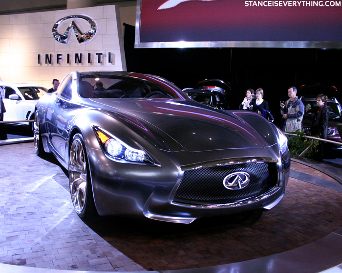 Another hybrid concept the Infiniti Essence