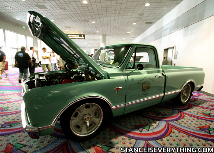 SEMA Showstopper: Holley's Shop Truck