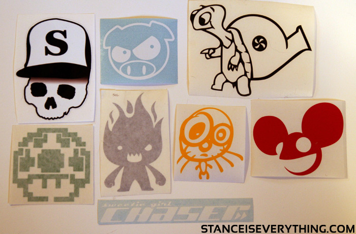 February sticker give away