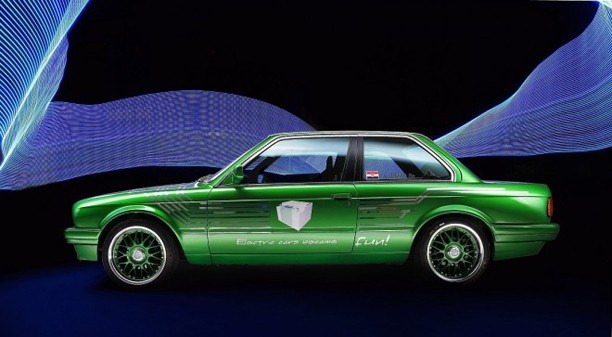 WTF Friday: Electric E30!?