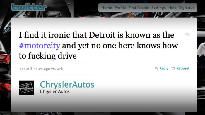 WTF Friday: Chrysler Overreacts?