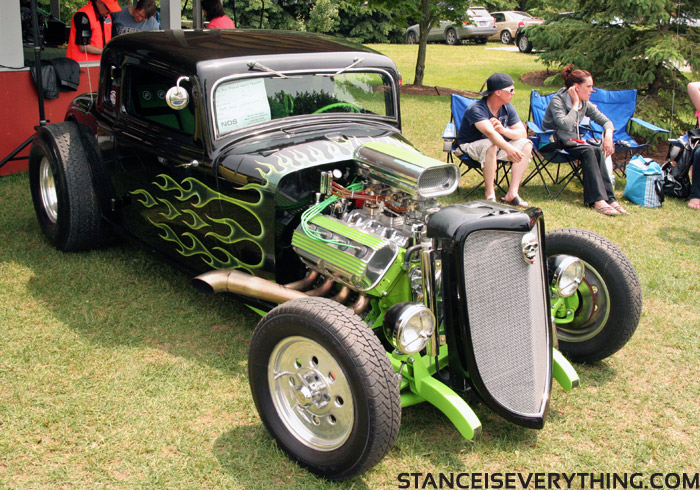 If Grave Digger was a hot rod...