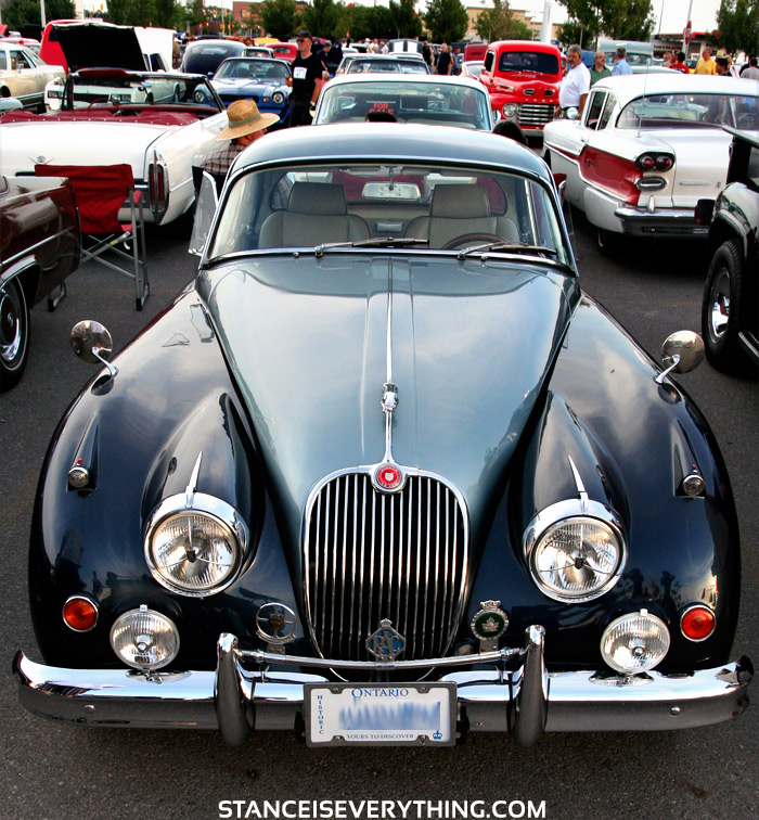 Jags of this vintage are pretty sick because you don't have to do a thing to them..
