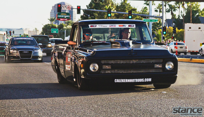Very glad to have seen Brad Coomer's C10 drive, this truck sounds Amazing