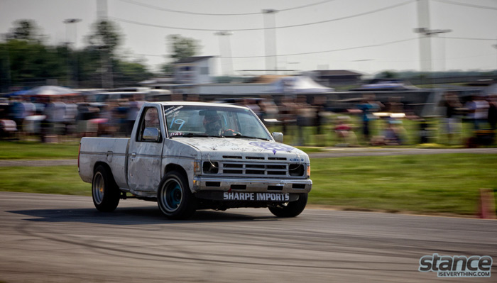 As expected Riley was out sending it in his KA Hardbody  and made it to the finals