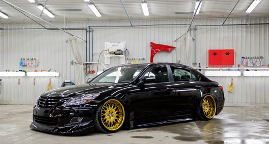 Featured Ride: Guillaume's VIP Styled Genesis