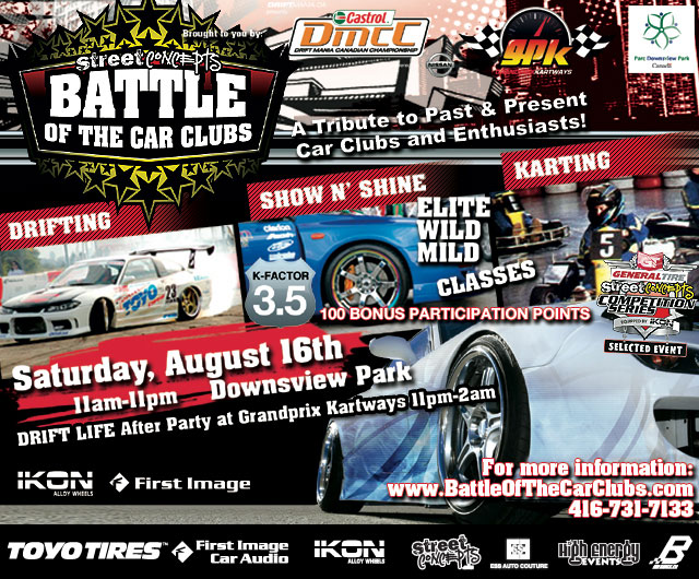 Event Preview: Battle of the Car Clubs
