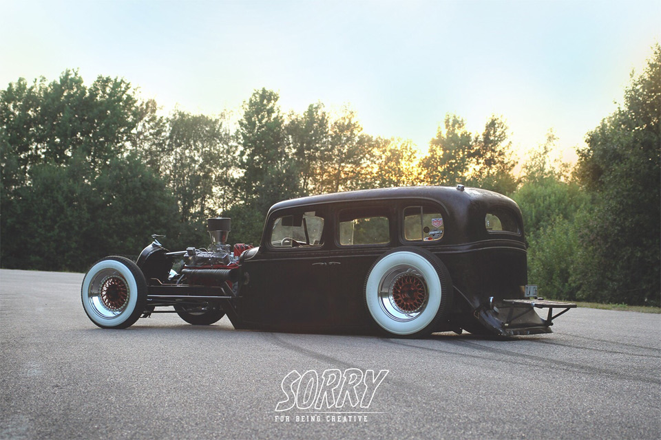 Theme Tuesdays: Hot Rods With Modern Wheels
