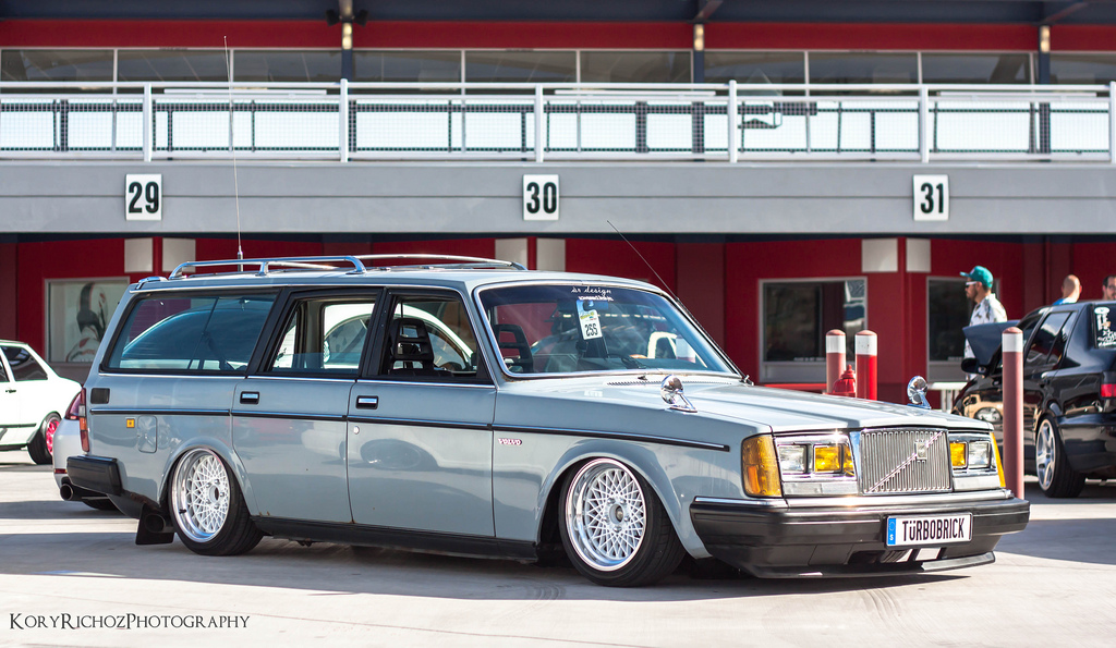 Theme Tuesdays Volvo 240s Stance Is Everything
