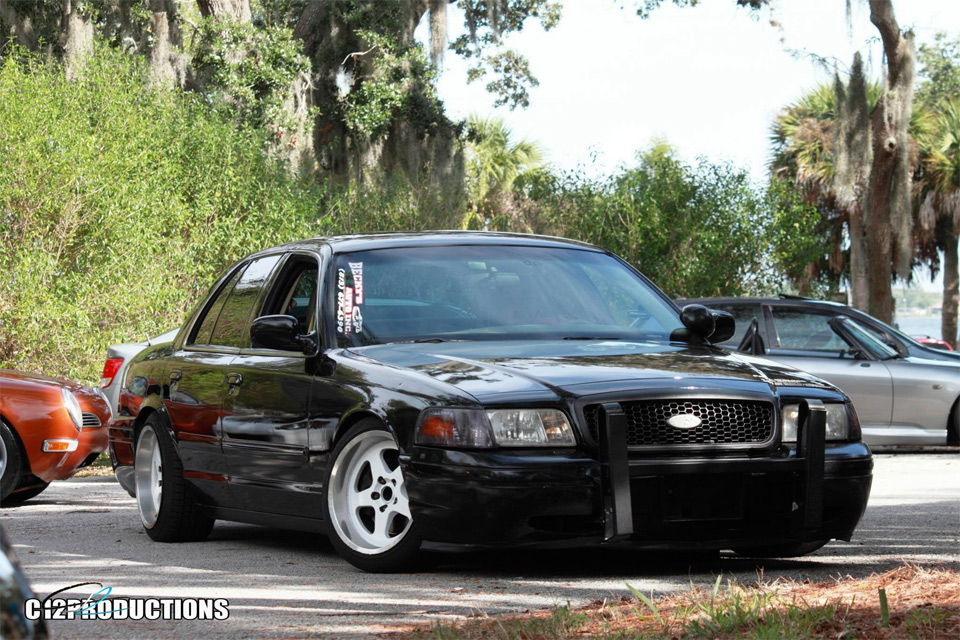 Kevin Quezada's Crown Vic which was shared on the Facebook page