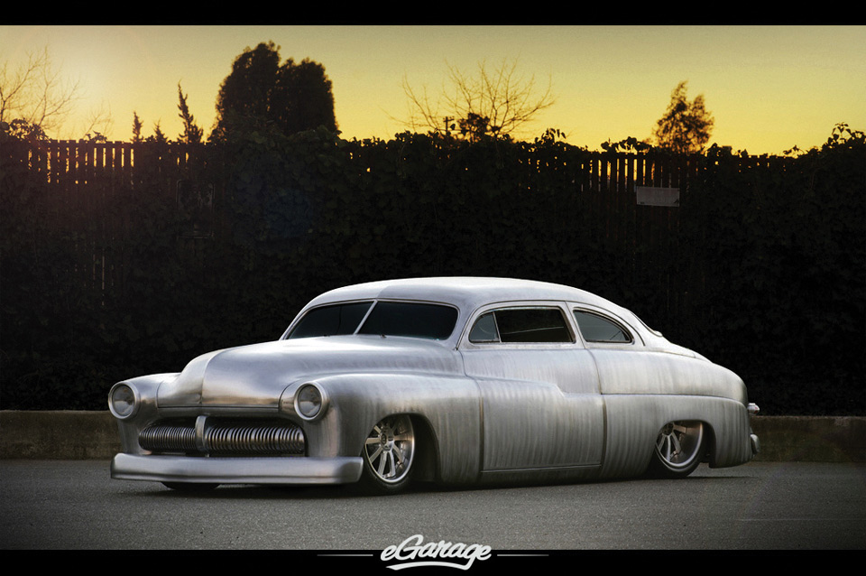 Stunning Chopped '50 Merc Coupe courtesy of E garage