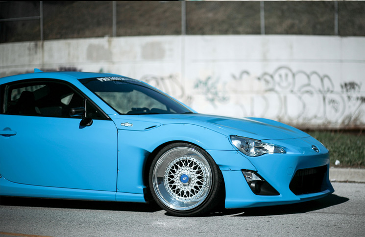 Blue Blooded: Bryan Costa's Rocket Bunny FR-S